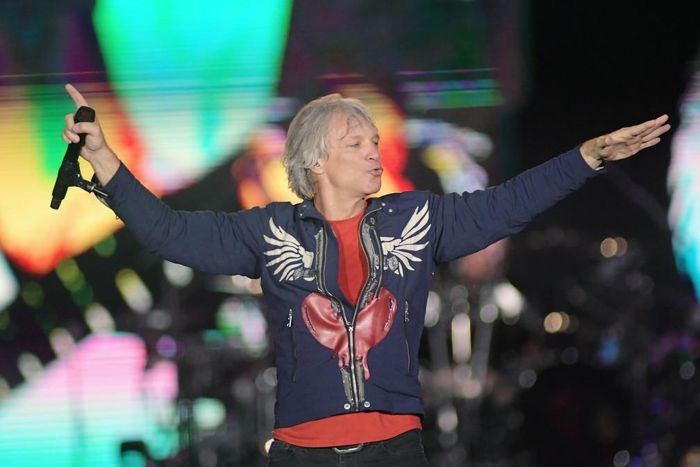 Apos Show No Rock In Rio Bon Jovi Mostra Trecho De Always E Agradece Obrigado Por Cantar Com A Gente Rock In Rio 2019 G1