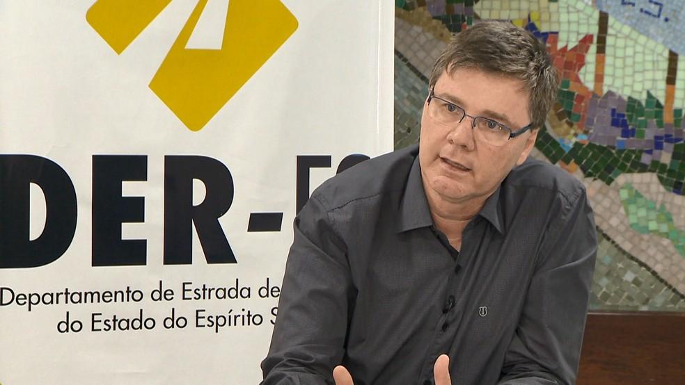 Gustavo Perin acredita que lei vai melhorar problema de paralisação de obras — Foto: Paulo Cordeiro/ TV Gazeta