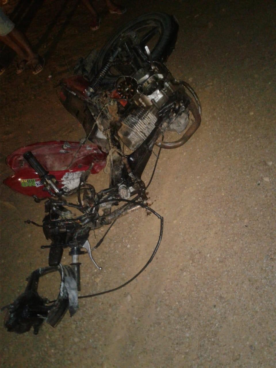 Homem morre em acidente de moto na Estrada da Tapera em Petrolina, PE - Notícias - Plantão Diário