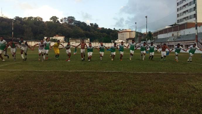 Alecrim - campeão Campeonato Potiguar Sub-19 comemoração (Foto: Divulgação/Alecrim FC)