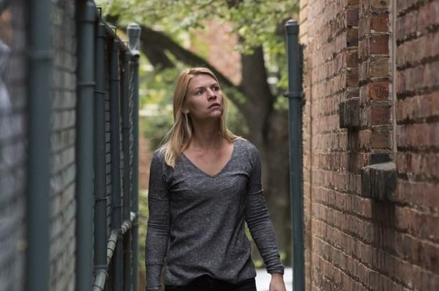 Claire Danes em cena da sétima temporada de 'Homeland' (Foto: Divulgação)