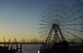 A roda-gigante do Cais do Porto, no Rio