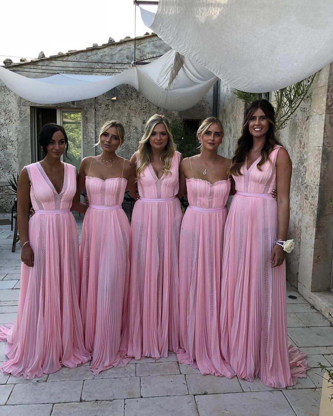 As madrinhas do casamento dos #theferragnez (Foto: Reprodução/ Instagram)