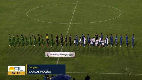 Veja os gols de CSA 2x1, pela terceria rodada do Campeonato Alagoano