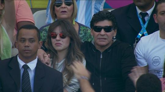 Messi, Di Stéfano e Maradona: Mineirão recebeu maiores ídolos da Argentina em diferentes papéis