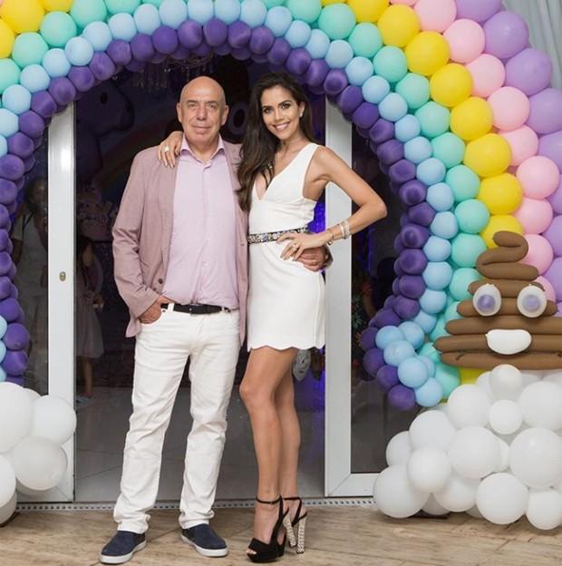 Daniela Albuquerque e o marido Amilcare Dallevo Jr  (Foto: Reprodução / Instagram)