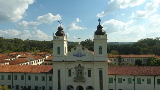 Seminário Santo Antônio é o cartão postal de Agudos