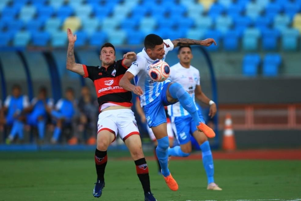 Atlético-GO e Anápolis estão na zona de classificação para as quartas de final. O Dragão lidera o Goianão até aqui — Foto: Douglas Schinatto