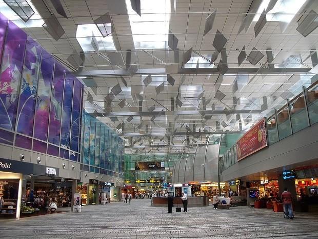 Aeroporto internacional de Cingapura (Foto: Wikipedia)