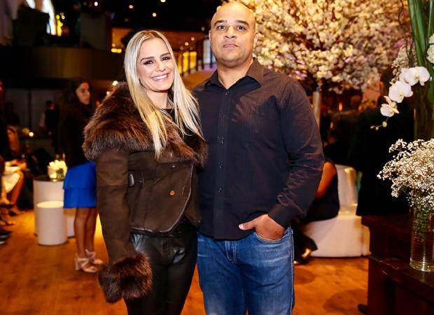 Milene Domingues e Rubem Lopes (Foto: Manuela Scarpa/Brazil News)