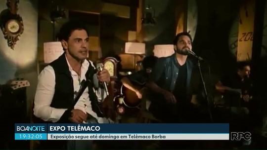 Exposição segue até domingo em Telêmaco Borba com shows