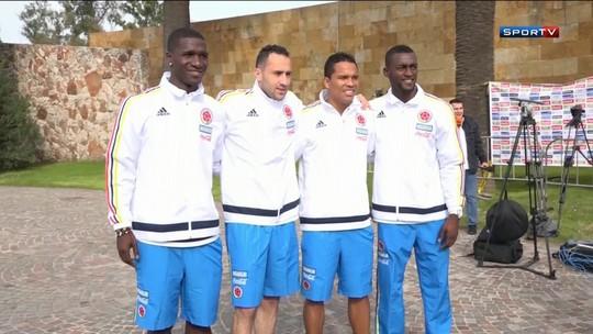 Colômbia faz parte final da preparação para a Copa América na Argentina