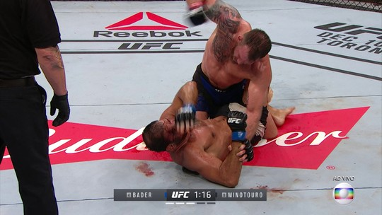 Após última luta do contrato, Bader diz que prefere continuar lutando no UFC