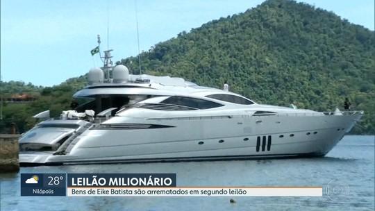 Carro de luxo e iate do empresário Eike Batista são arrematados em leilão milionário
