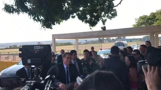 'Não quero submeter o meu filho a um fracasso', diz Bolsonaro sobre indicação de Eduardo