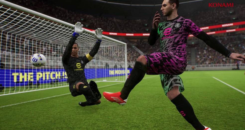 eFootball será como uma versão demo em seu lançamento, revela Konami — Foto: Divulgação/Konami
