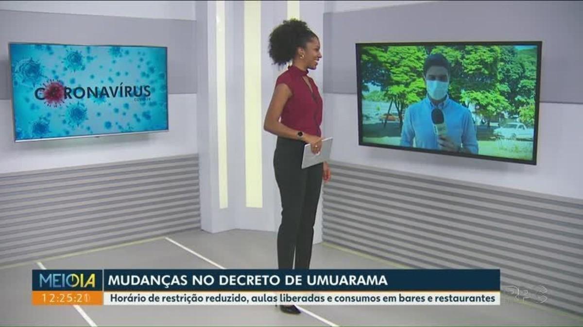 Covid-19: Novo decreto de Umuarama reduz horário do toque de recolher e flexibiliza funcionamento de atividades