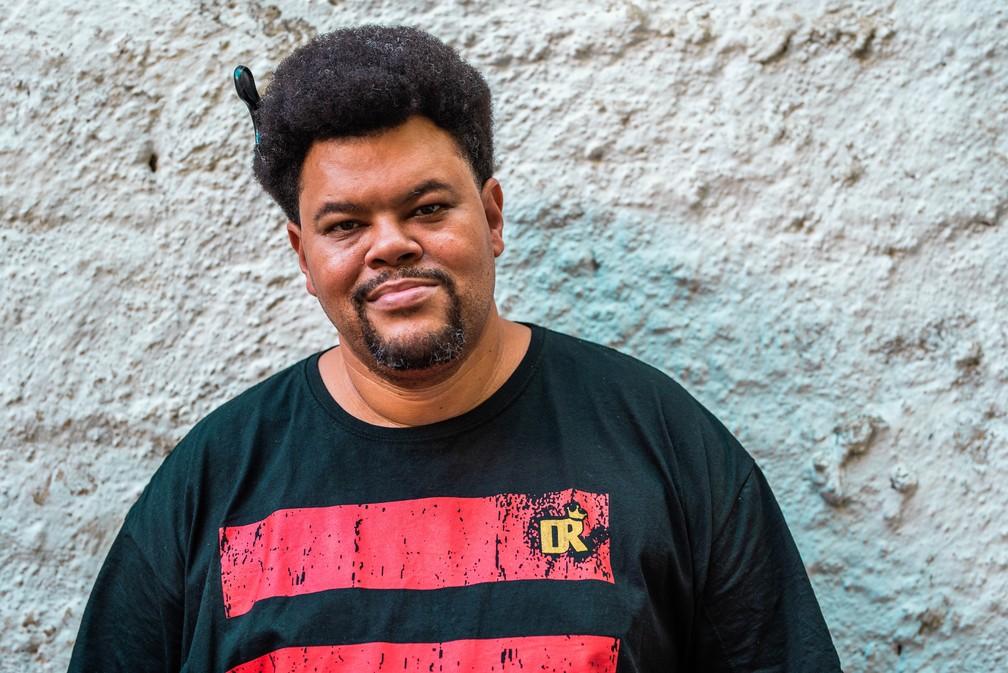 Babu Santana — Foto: Divulgação/Christoffer Pixinine