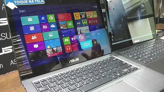 Asus lança novos ultrabooks, MemoPad e poderoso note gamer de R$ 14 mil