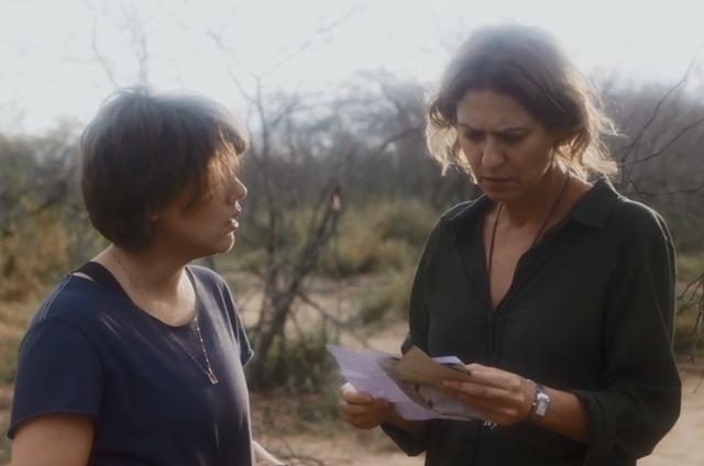 Alice Wegmann e Patrícia Pillar em 'Onde nascem os fortes' (Foto: Reprodução)