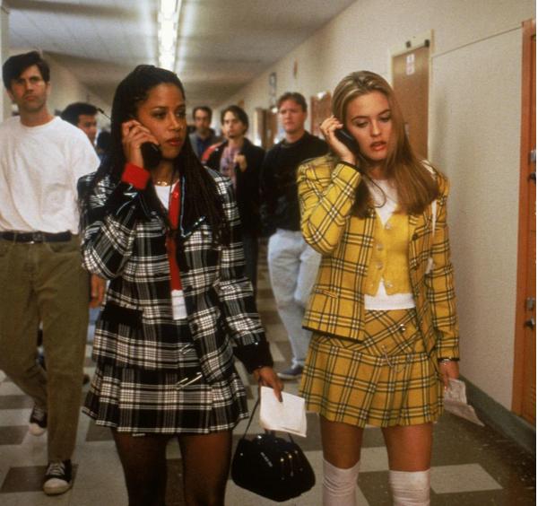 A atriz Alicia Silverstone em As Patricinhas de Beverly Hills (1995) (Foto: Reprodução)