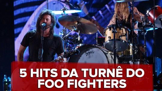 Foo Fighters e Queens of the Stone Age abrem turnê no Brasil neste domingo no Rio; saiba mais sobre shows