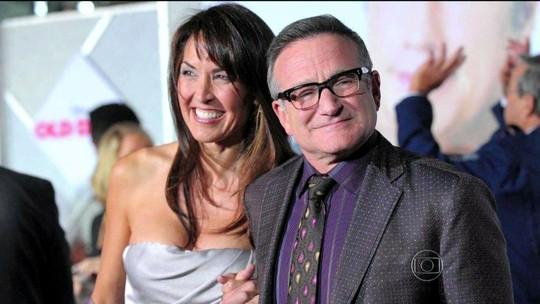 Viúva de Robin Williams afirma que ator estava sóbrio