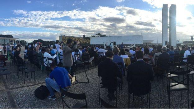 Cerimônia de encerramento do RenovaBR em Brasília teve lágrimas e discursos (Foto: Divulgação/RenovaBR)