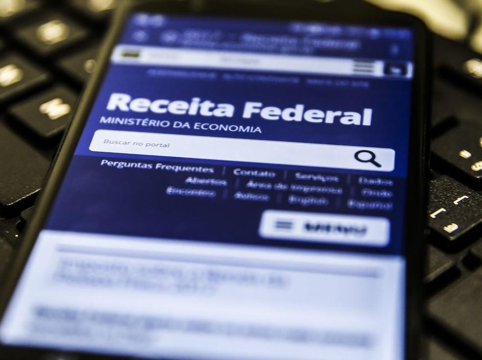 Aplicativo do Imposto de Renda da Receita Federal — Foto: Marcello Casal Jr/Agência Brasil