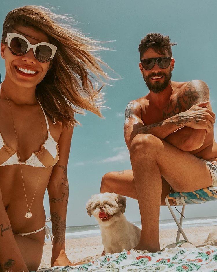 Franciele e Diego Grossi (Foto: Reprodução/Instagram)