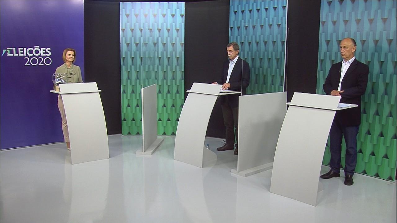 Debate no segundo turno com os candidatos à Prefeitura de Caxias do Sul - 1º Bloco