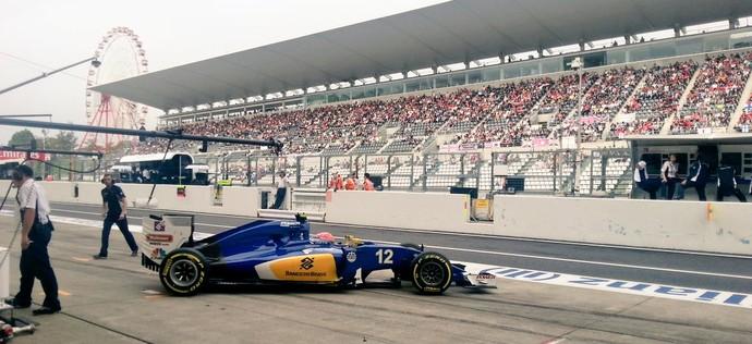 Felipe Nasr Sauber Fórmula 1 GP do Japão 2016 (Foto: Reprodução)