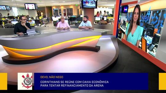 Comentaristas criticam acordo verbal citado por Andrés no pagamento da Arena Corinthians