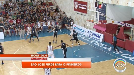 Fora de casa, Pinheiros vence São José Basketball e conquista a 11ª vitória seguida no NBB