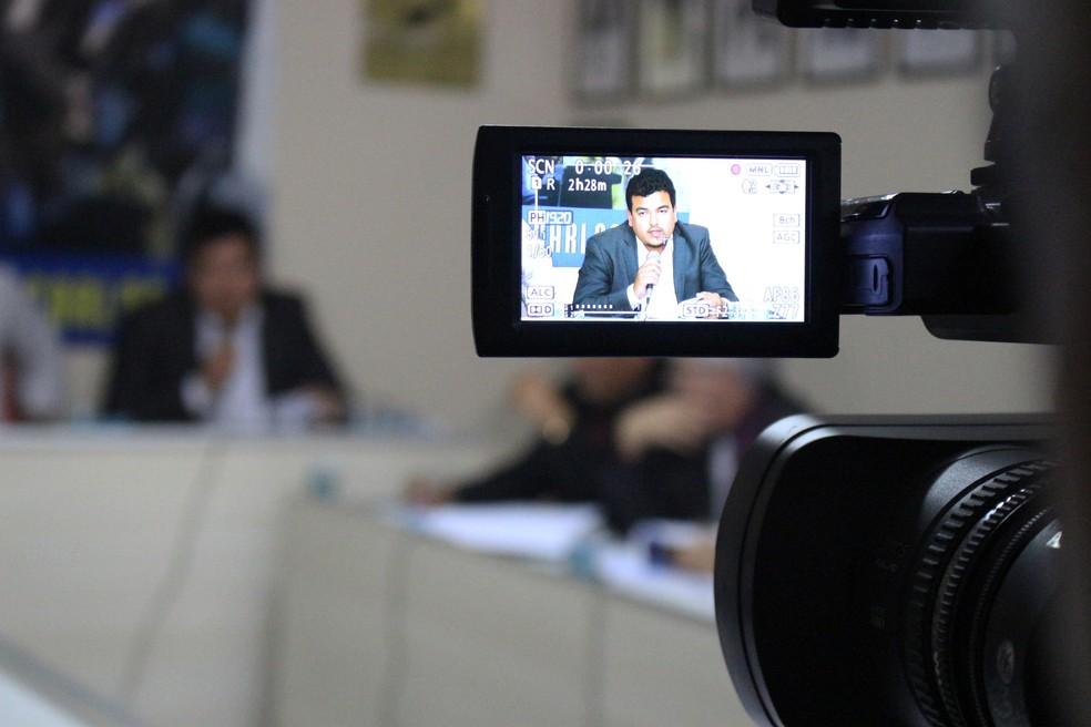 Procurador do TJD-PI, Fabrício Carvalho (Foto: Josiel  Martins)