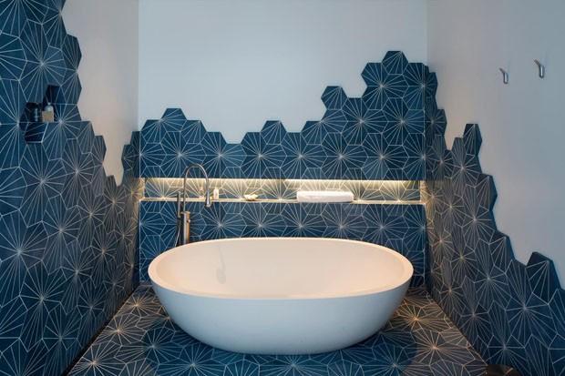 Pisos e paredes geométricos: 10 ideias para adotar a tendência (Foto: Divulgação)