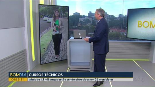 Cursos do Pronatec oferecem mais de 1300 vagas em 26 cidades do Paraná