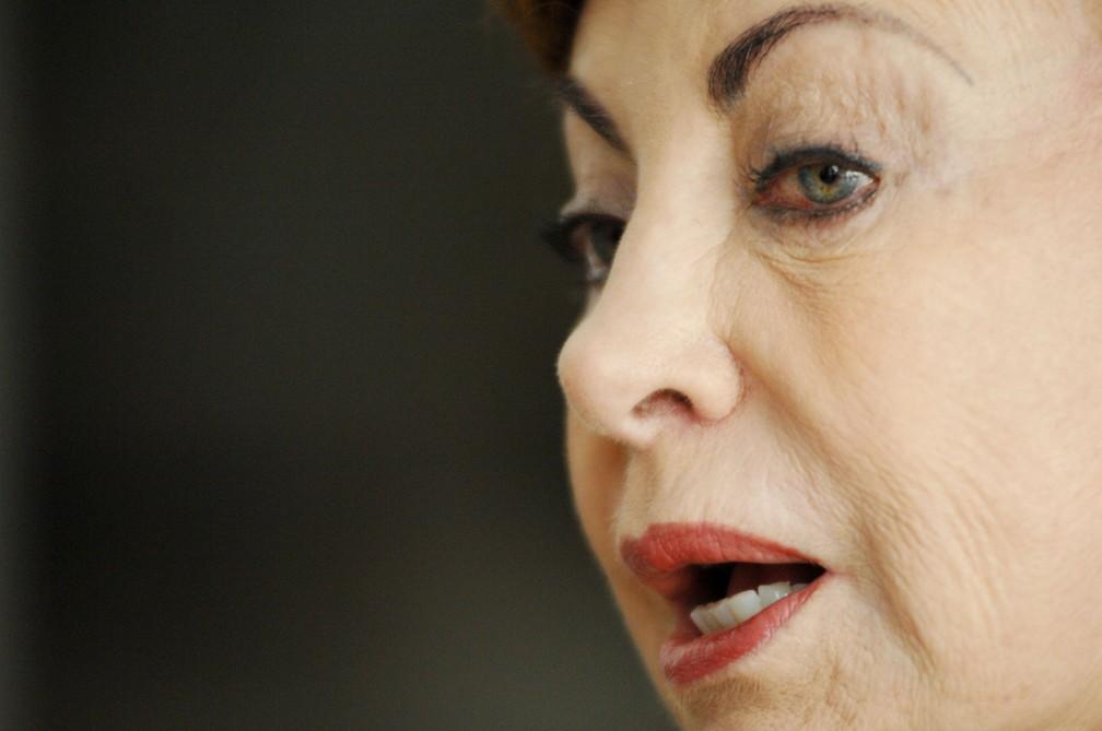 Beatriz Segall durante entrevista, em São Paulo, em julho de 2011 (Foto: Thiago Teixeira/Estadão Conteúdo/Arquivo)