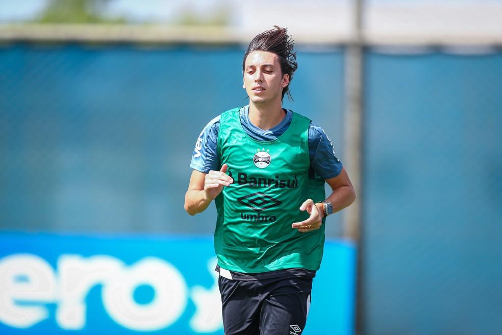 Pedro Geromel, do Grêmio — Foto: Lucas Uebel/Grêmio