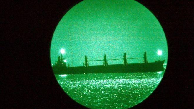 Muitos navios não estão mais transmitindo seus sinais no Golfo Pérsico e em outros mares próximos (Foto: Getty Images)