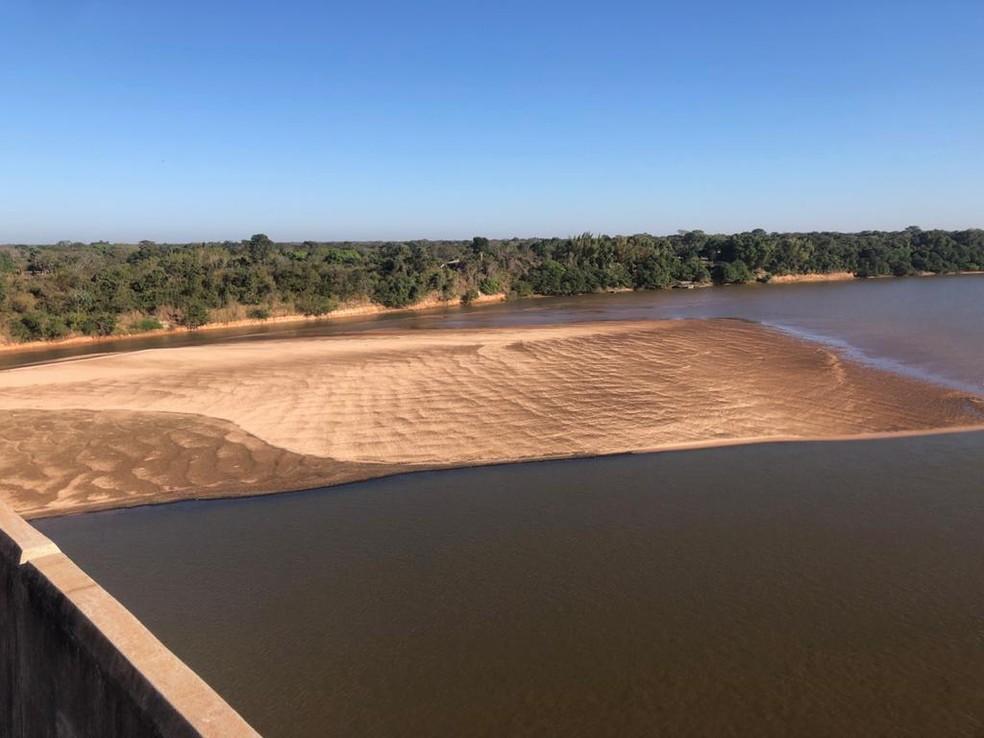 Decreto que proíbe temporada turística no Rio Araguaia começa a valer nesta quarta-feira  — Foto: Governo de Goiás/Divulgação