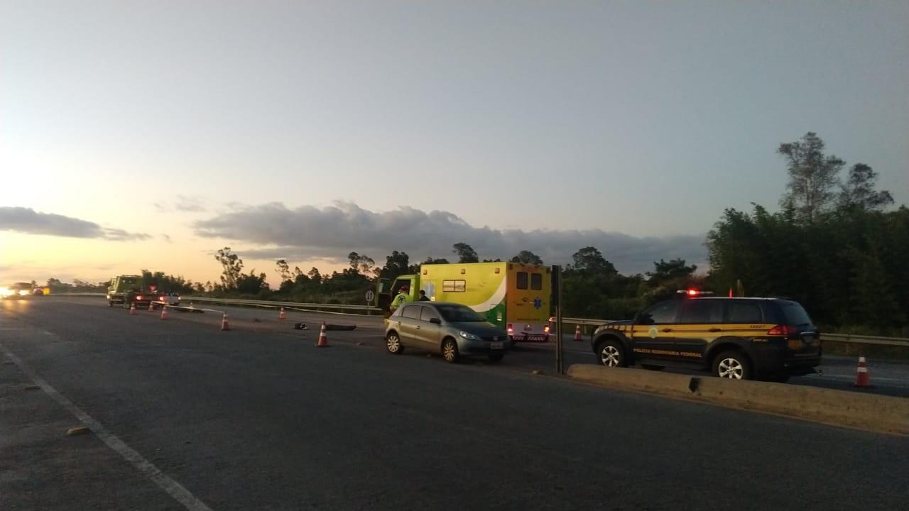 Motociclista morre em colisão em Pelotas  - Noticias