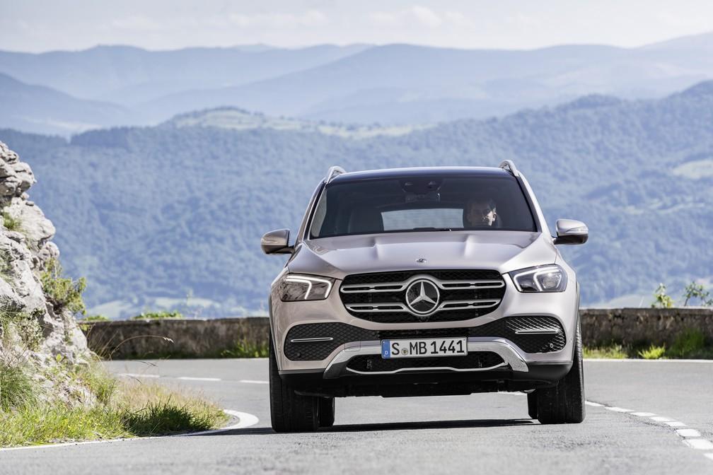 Mercedes-Benz GLE — Foto: Divulgação