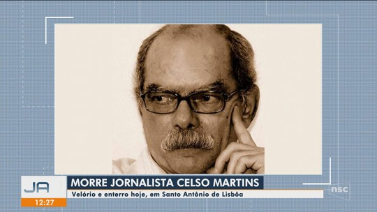 Vítima de infarto, jornalista e historiador Celso Martins morre em Florianópolis