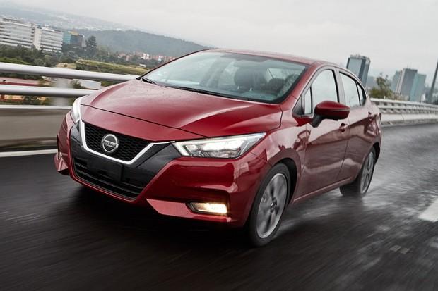 Nissan Versa tem design completamente renovado (Foto: Divulgação)