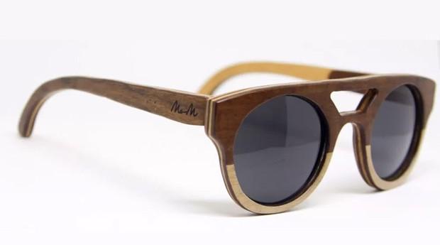 oculos madeira (Foto: Divulgação)