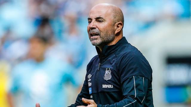 Jorge Sampaoli, técnico do Santos