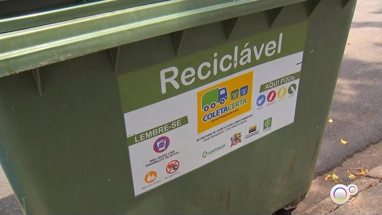 Containers de lixo estão sendo depredados em Lençóis Paulista