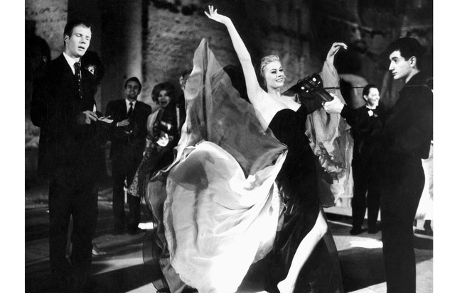 Anita Ekberg, La Dolce Vita (1960) (Foto: Divulgação/ Alamy)