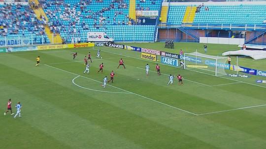 Confira os gols de Avaí 1 x 1 Oeste pela 32ª rodada da Série B